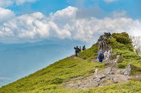 登山好きカップル